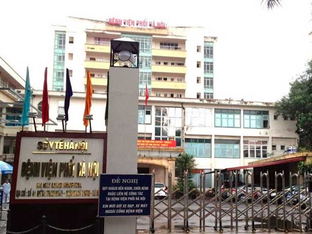 Phát hiện 9 ca dương tính với SARS-CoV-2, Bệnh viện Phổi Hà Nội tạm dừng tiếp nhận bệnh nhân - 1
