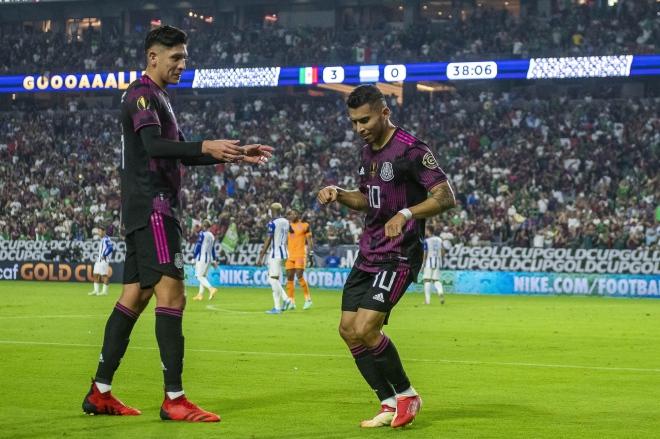 Video Mexico - Honduras: 45 phút bùng nổ, vùi dập 3 bàn (Gold Cup) - 1