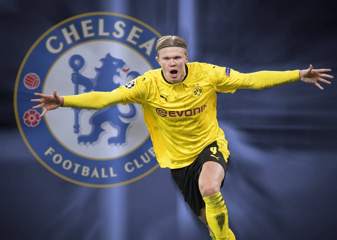 """Chelsea """"phá két"""" 145 triệu euro mua Haaland chấn động Ngoại hạng Anh - 1"""