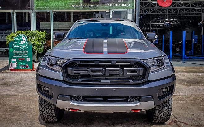 Ford Ranger Raptor bản X xuất hiện tại Cambodia, liệu có về Việt Nam - 1