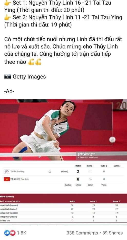 Olympic Tokyo 2020: Netizens called hotgirl badminton Nguyen Thuy Linh - 8