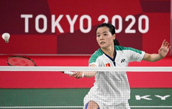 'Hot girl' cầu lông Thuỳ Linh tiết lộ bất ngờ sau trận thua trước số 1 thế giới - 1