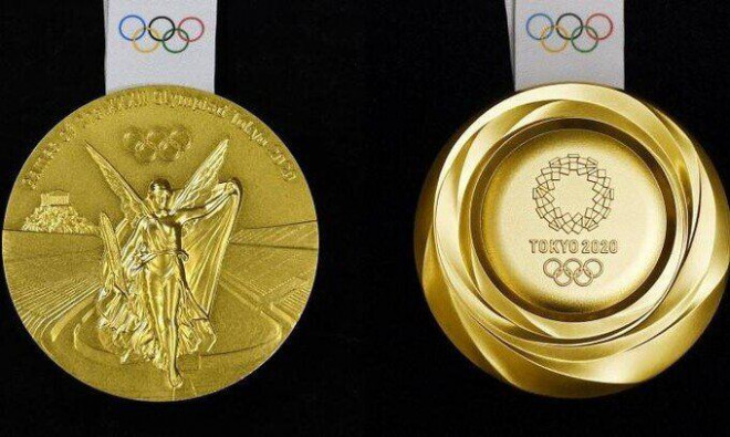 A very special thing about the gold medal at the Tokyo Olympics 2021 - 1