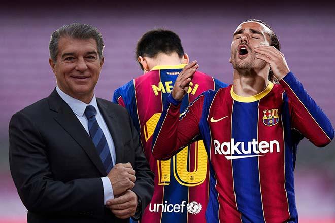 """Messi """"thất nghiệp"""" gây rắc rối cho Barca: Bị Atletico ép giá vụ Griezmann - 1"""