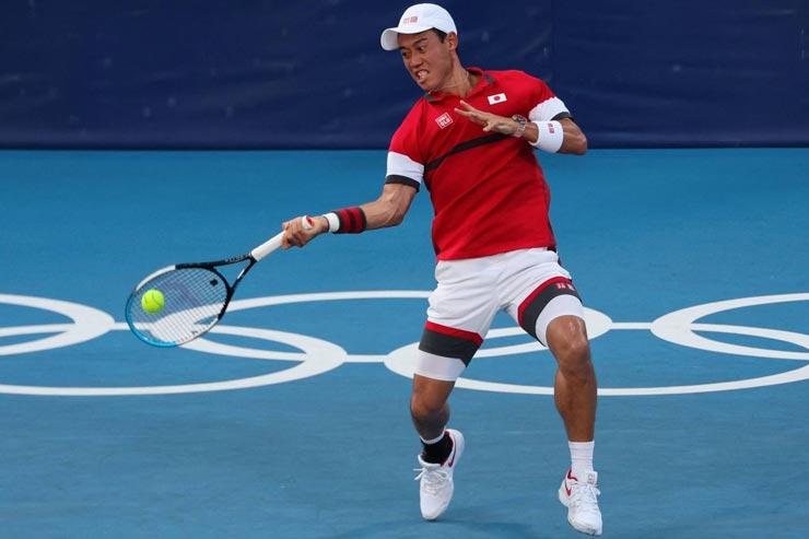 Nóng tennis Olympic: Nishikori thoát hiểm, mỹ nhân Svitolina - Giorgi đại chiến - 1