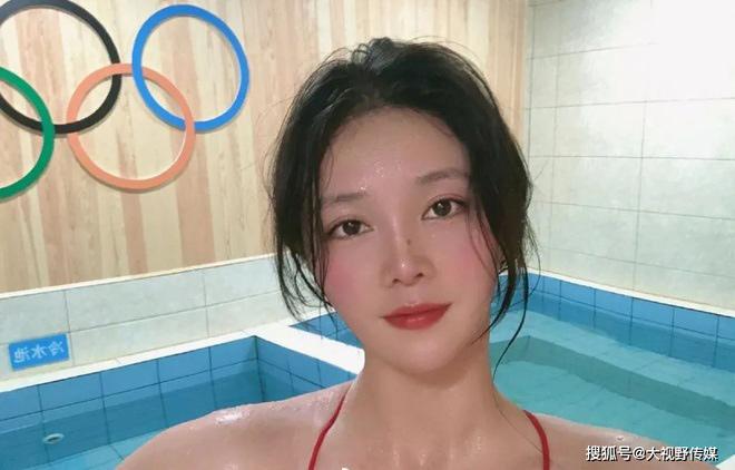 """Đoàn Trung Quốc xuất hiện """"Nữ thần"""" bóng nước gây sốt Olympic Tokyo - 1"""