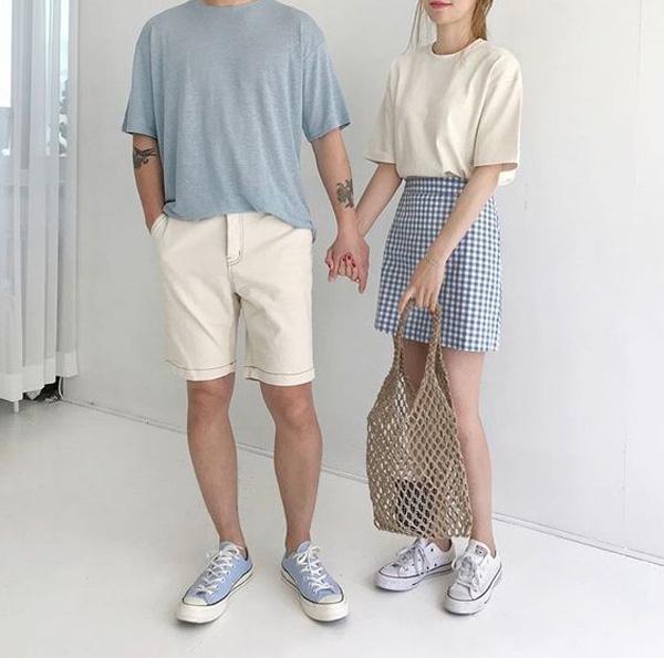 9 mẹo diện đồ đôi theo màu sắc cực sành điệu và tinh tế - 1