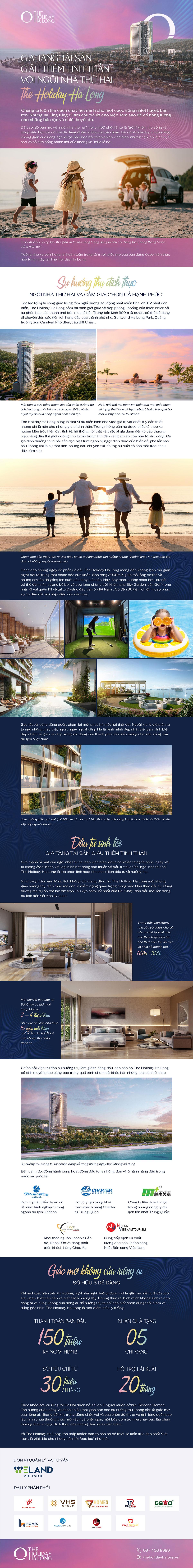 Gia tăng tài sản giàu thêm tinh thần với ngôi nhà thứ hai The Holiday Ha Long - 1