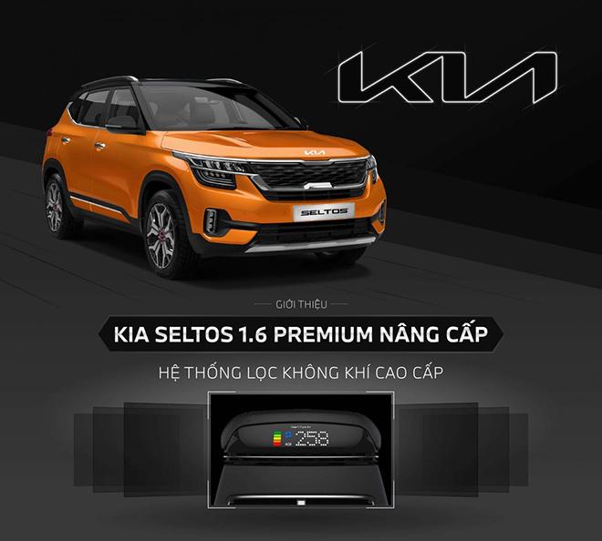 """Kia Seltos 1.6 Premium """"quay lại"""" thị trường Việt Nam với bản nâng cấp mới, giá không đổi - 1"""