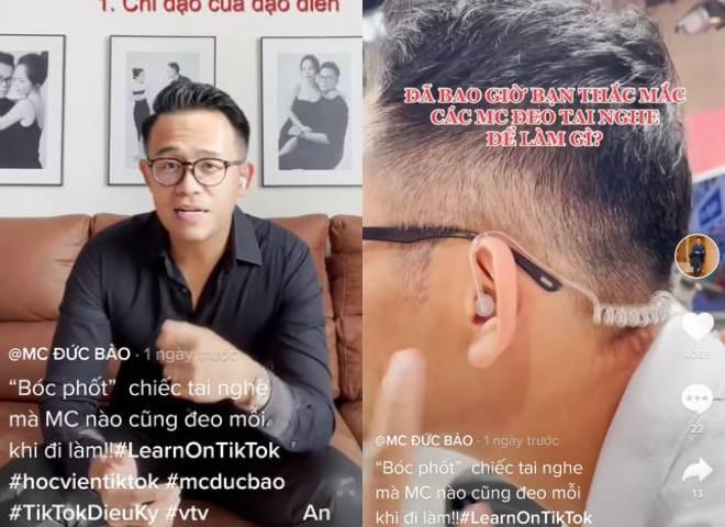 """MC Đức Bảo chỉ cách """"chữa cháy"""" khi lỡ gặp sự cố trên sóng truyền hình - 1"""