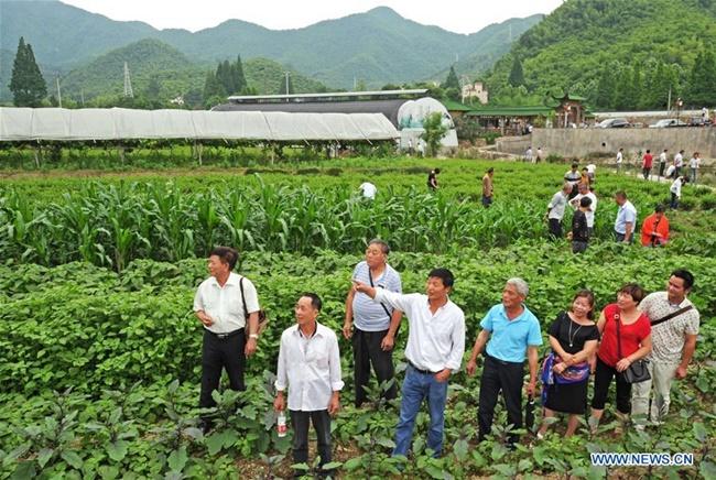 Làng Yucun, Chiết Giang, Trung Quốc hiện là điểm du lịch nổi tiếng và là một trongnhững ngôi làng đẹp nhất ở nước này.