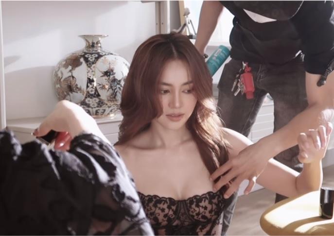 Ninh Dương Lan Ngọc khoe clip hậu trường với phong cách mới - 1