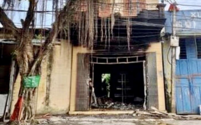 Công an kêu gọi nhân dân tố giác tội phạm vụ 2 người chết ở căn nhà cháy - 1