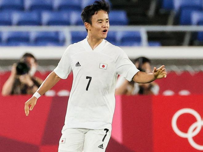 """""""Messi Nhật"""" ghi 3 bàn/3 trận: Ông lớn dè chừng, mơ kỳ tích HCV Olympic - 1"""