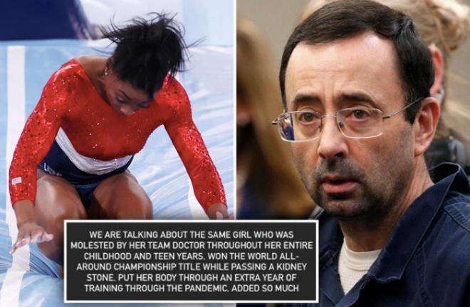 """Bác sĩ bỉ ổi đi tù hơn 100 năm làm ảnh hưởng tới """"nữ hoàng"""" thể dục Olympic - 1"""