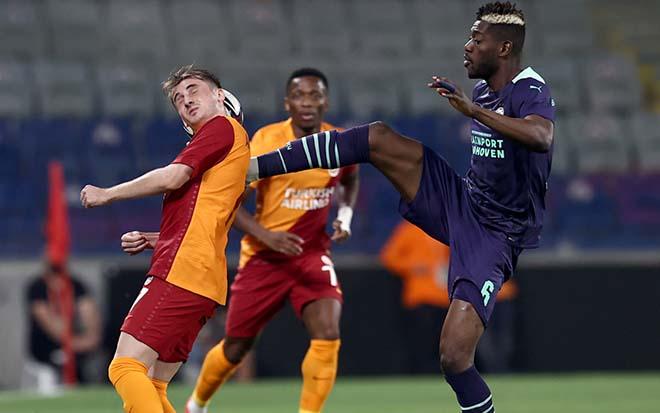 """Cúp C1 rực lửa vòng loại: Cựu vô địch ngã ngựa, Galatasaray bị """"hủy diệt"""" 2-7 - 1"""