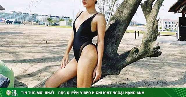Văn Mai Hương sở hữu thân hình đẹp chuẩn như tượng nhờ diệt giặc béo thành công
