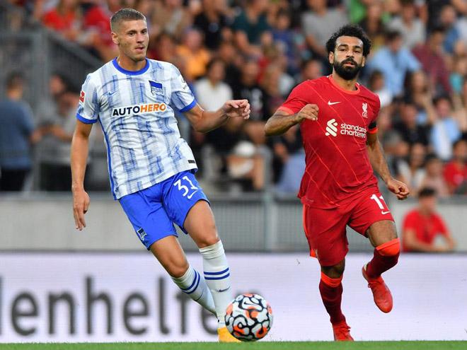 Video Hertha Berlin - Liverpool: Rượt đuổi hấp dẫn, mãn nhãn 7 bàn (Giao hữu) - 1