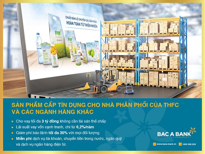 Bac A Bank ưu đãi cấp tín dụng cho Nhà phân phối THFC và các ngành hàng khác - 1