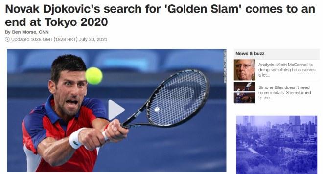 """Djokovic thua sốc lỗi hẹn HCV Olympic: Báo chí xót xa vì """"dớp"""" 13 năm - 1"""
