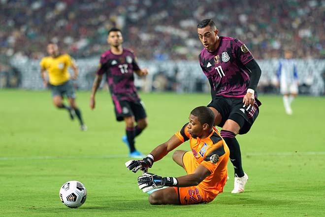 """Video Mexico - Canada: Điên rồ """"bàn thắng vàng"""" phút 90+9, hẹn Mỹ chung kết Gold Cup - 1"""