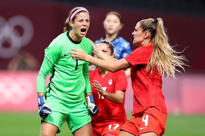 Video bóng đá nữ Canada - Brazil: Kịch tính 120 phút, loạt luân lưu định mệnh (Olympic Tokyo) - 1