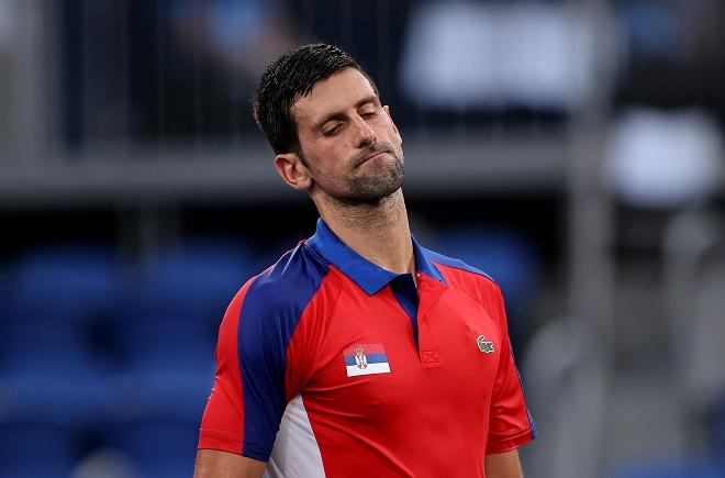 """Video tennis Djokovic - Zverev: Ngược dòng chấn động, tan mộng """"Golden Slam"""" (Bán kết Olympic) - 1"""