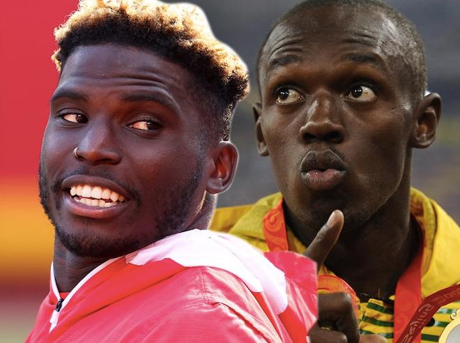 """""""Tia chớp"""" Usain Bolt bị thách thức chạy đua nhưng chưa dám lên tiếng - 1"""