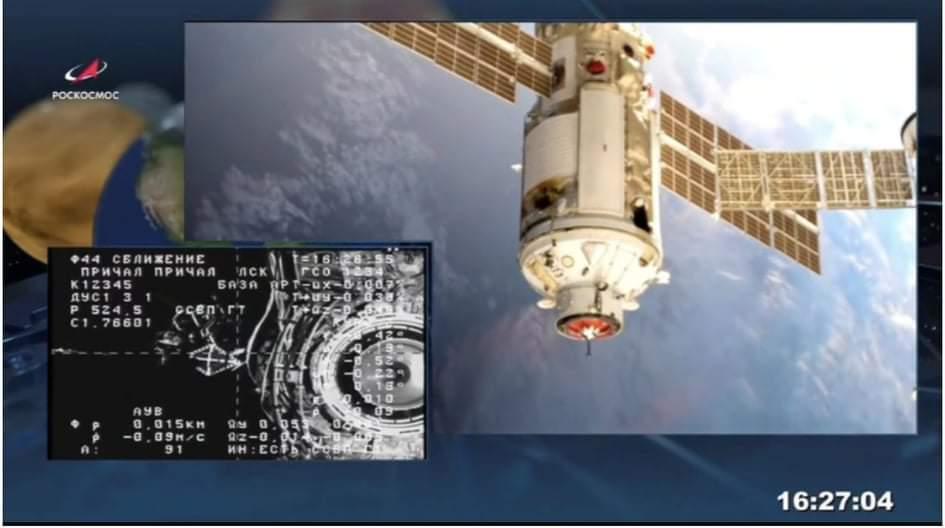 Mô-đun vũ trụ của Nga trục trặc, làm lệch vị trí Trạm vũ trụ quốc tế - 1