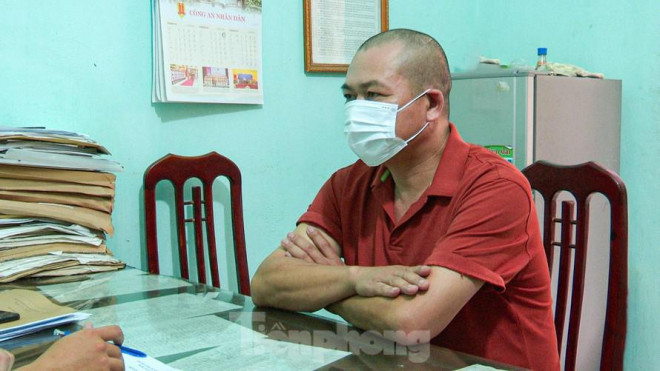 Bắt lái xe tải dùng giấy xét nghiệm COVID-19 giả để qua chốt tại Nam Định - 1