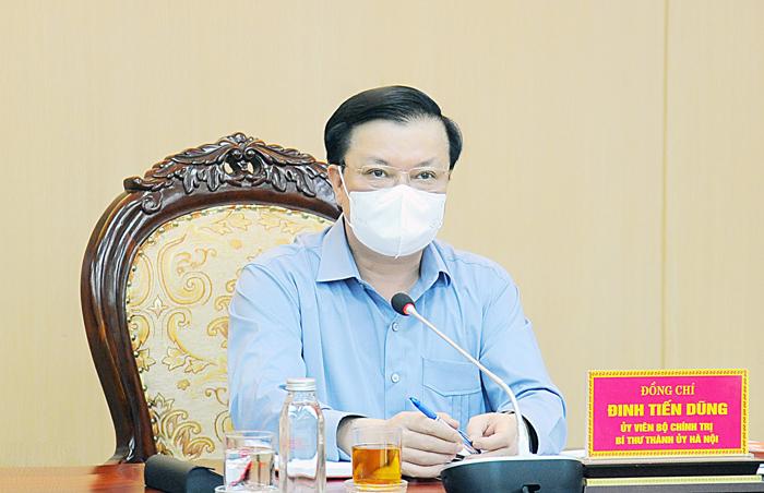 Bí thư Thành uỷ Hà Nội: Tuỳ mức độ kiểm soát dịch sẽ quyết định gia hạn giãn cách hay không - 1