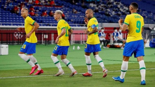 Dự đoán tỷ số, soi kèo U23 Brazil vs U23 Ai Cập, Olympic 2021 - 1