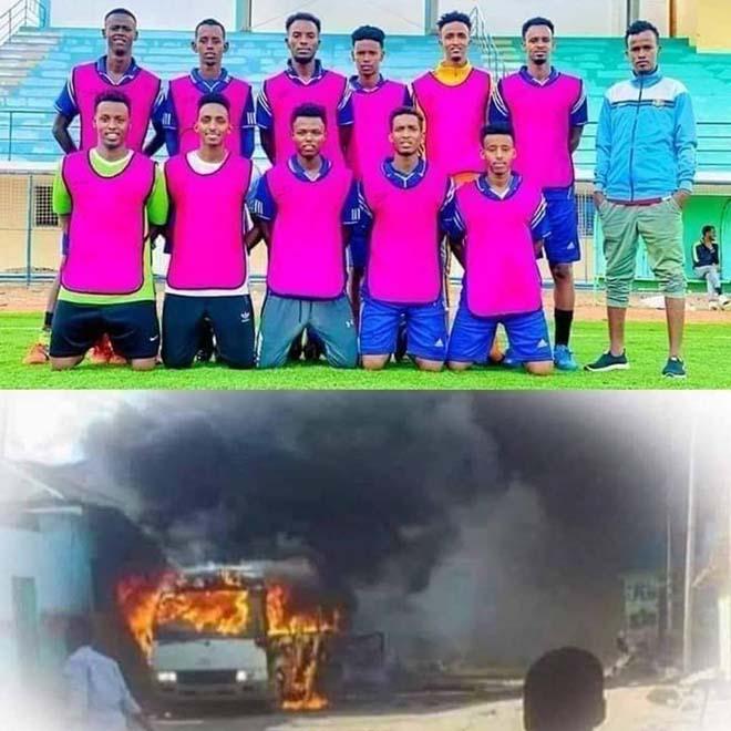 Chấn động bóng đá châu Phi: Xe bus chở đội bóng bị đánh bom, 17 người thương vong - 1
