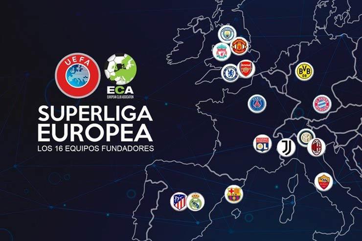 """Real, Barca và Juventus thắng kiện UEFA: Super League dễ được """"hồi sinh"""" - 1"""