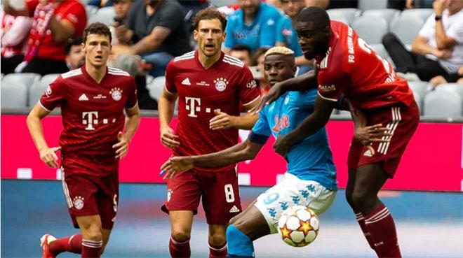 Video Bayern Munich - Napoli: Lewandowski trở lại, 3 đòn choáng váng - 1