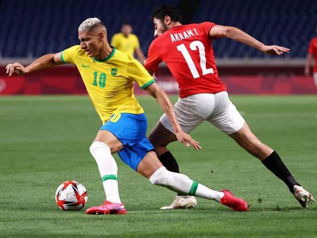 Video bóng đá Olympic Brazil - Ai Cập: Phô diễn đẳng cấp, nhẹ nhàng tiến bước - 1