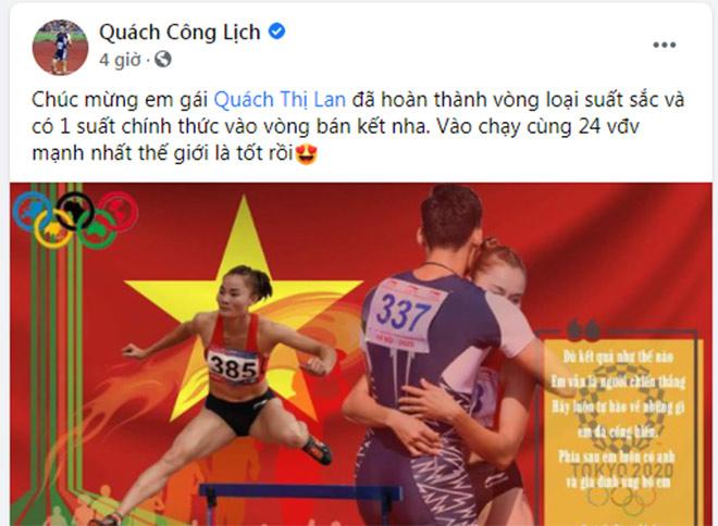 Quách Thị Lan làm nên mốc lịch sử điền kinh VN ở Olympic, vào chung kết được không? - 1