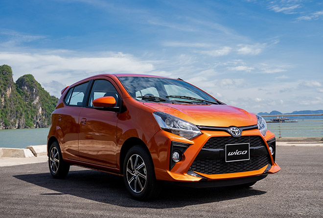 Giá xe Toyota Wigo lăn bánh tháng 8/2021 - 1