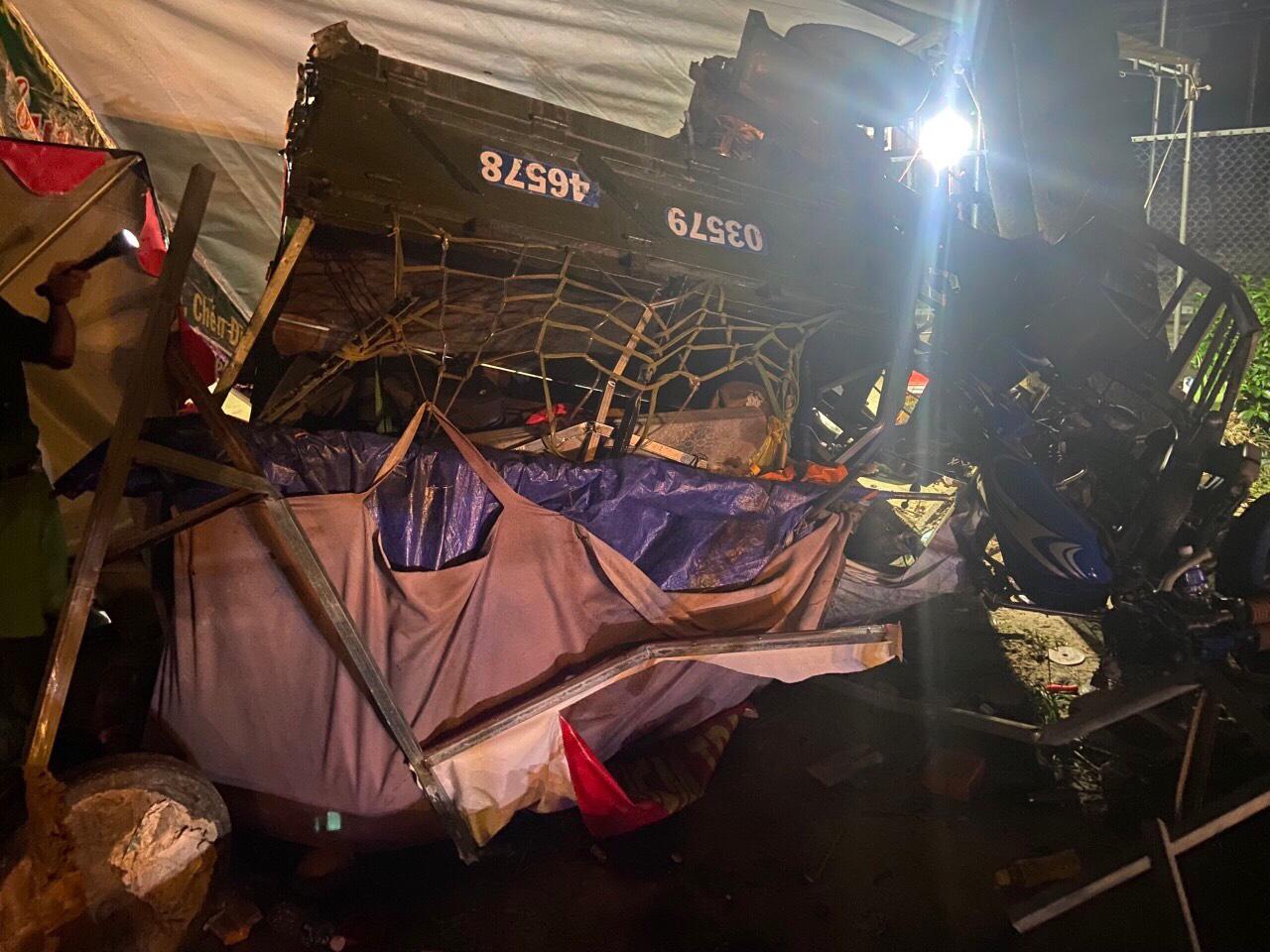 Tai nạn tại chốt kiểm dịch, 1 người tử vong, 6 người bị thương - 1