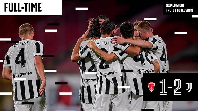 Video Monza - Juventus: Phô diễn đẳng cấp, nhẹ nhàng đoạt cúp - 1