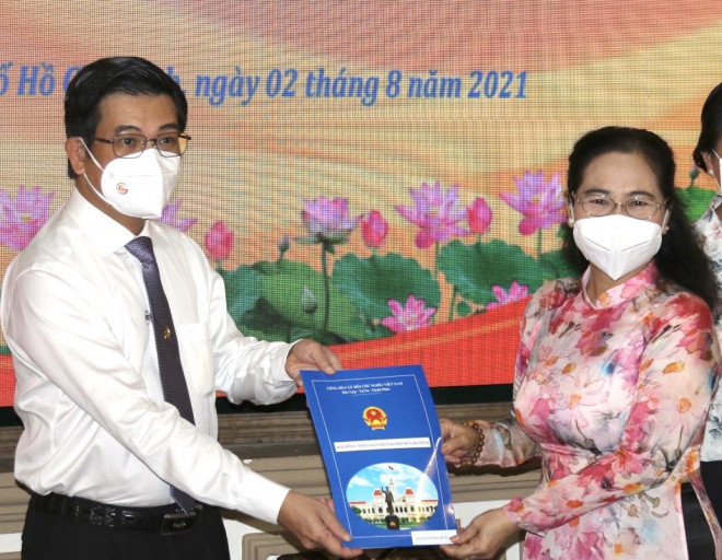 Bà Nguyễn Thị Lệ làm Bí thư Đảng đoàn HĐND TP HCM - 1