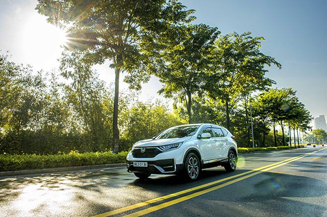 Nhận ngay ưu đãi 100% lệ phí trước bạ khi mua Honda CR-V trong tháng 8 năm 2021 - 4
