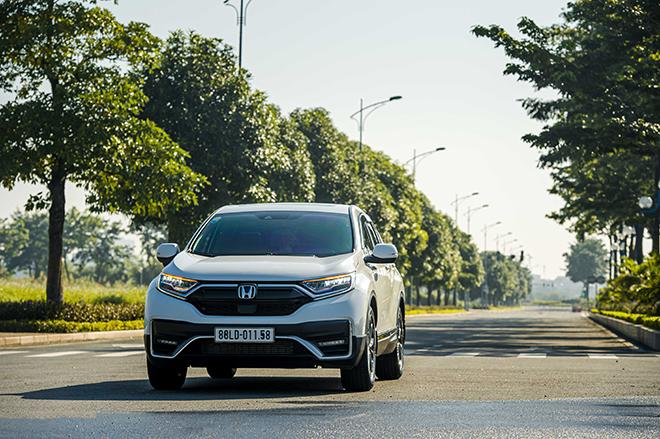 Nhận ngay ưu đãi 100% lệ phí trước bạ khi mua Honda CR-V trong tháng 8 năm 2021 - 1
