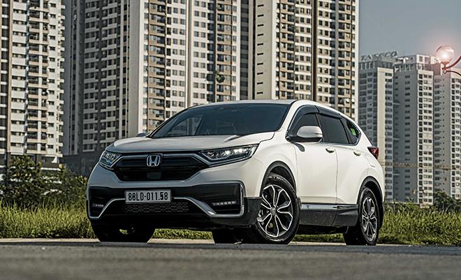 Nhận ngay ưu đãi 100% lệ phí trước bạ khi mua Honda CR-V trong tháng 8 năm 2021 - 3