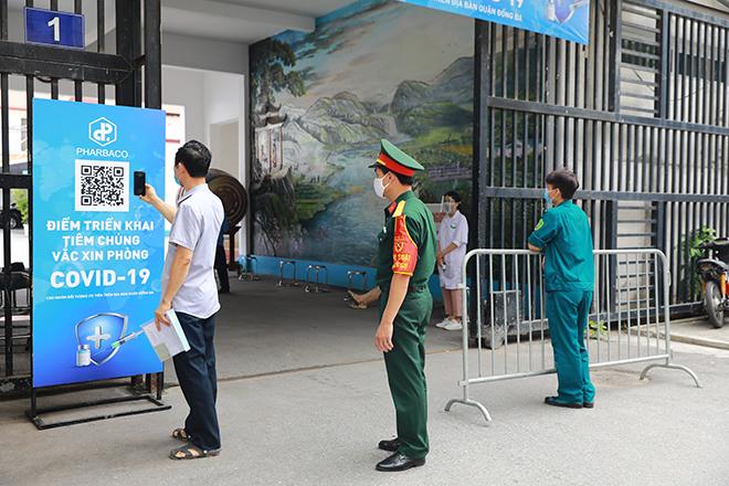 Công tác tiêm chủng vắc xin phòng Covid-19 tại Hà Nội - 1