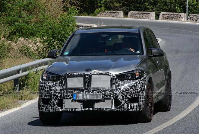 Bắt gặp xe BMW X5M bản nâng cấp chạy thử trên phố - 1