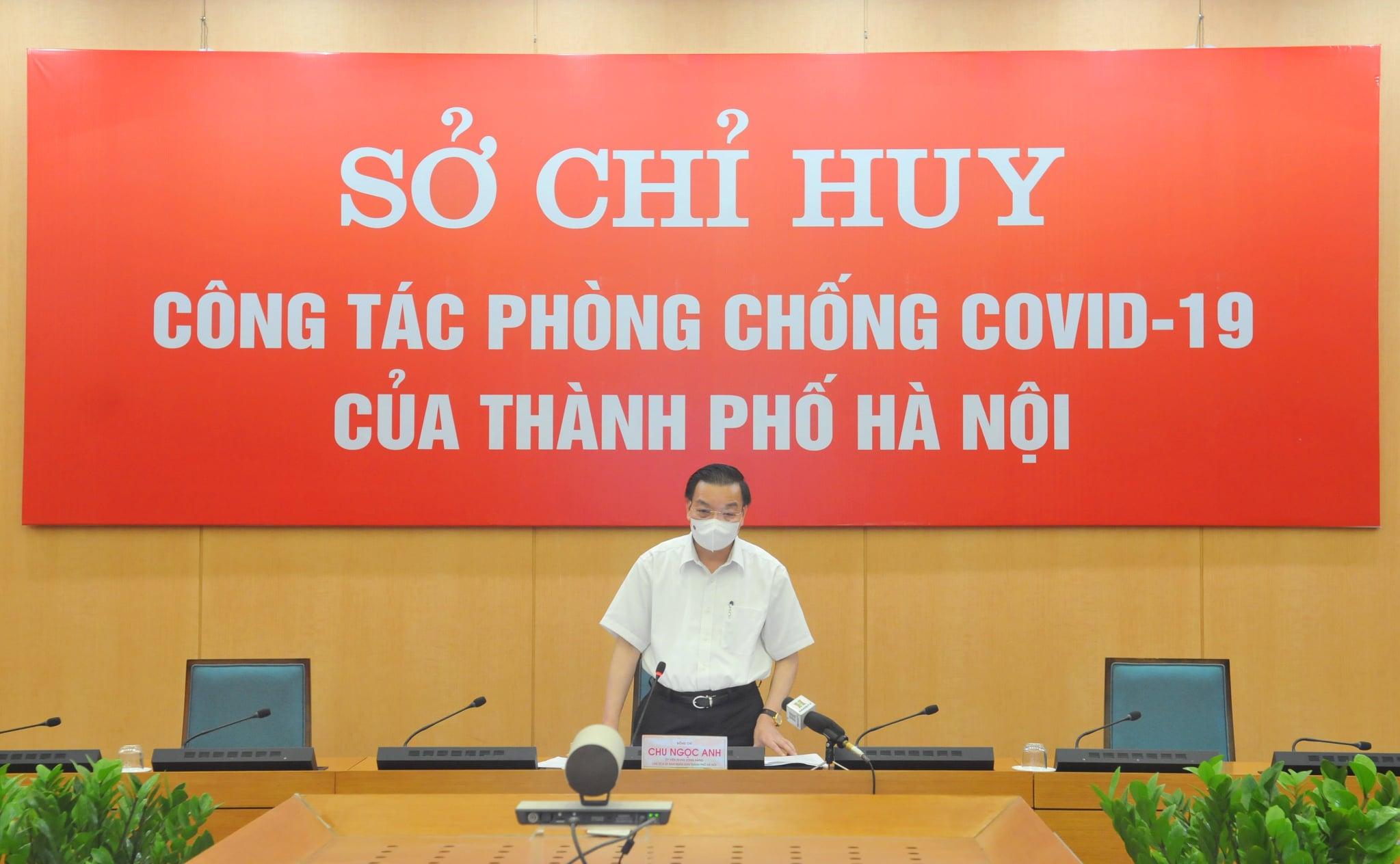 Chủ tịch TP.Hà Nội thông tin về tình hình chống dịch COVID-19 của thành phố - 1