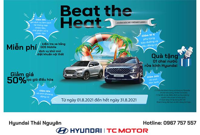 Chương trình chăm sóc xe – Hè mát lạnh cùng Hyundai Thái nguyên - 1