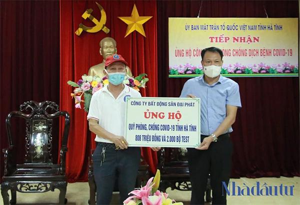 Doanh nhân Trần Văn Toàn đau đáu tìm cách giúp người mùa dịch - 1