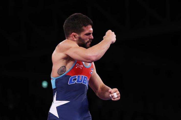 Trực tiếp thi đấu Olympic 2/8: Hạ sao chủ nhà vô địch vật thế giới, VĐV Cuba ẵm HCV - 1